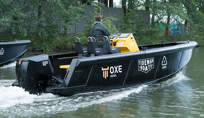 Tideman Boats Bv Indestructible Hdpe Workboats