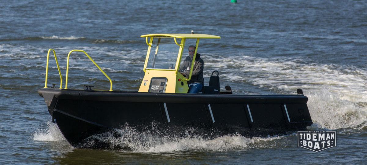 High density polyethylene boats (HDPE) - Tideman Boats
