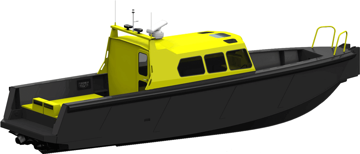 Highlighted boat